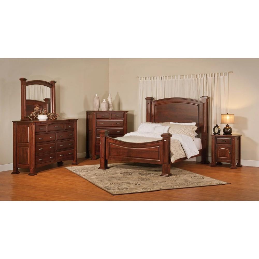 QW Amish Lexington 5pc Set Quality Woods Furniture