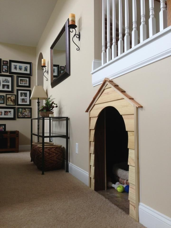 Photo Gallery In 2019 Pet Living Under Stairs Dog