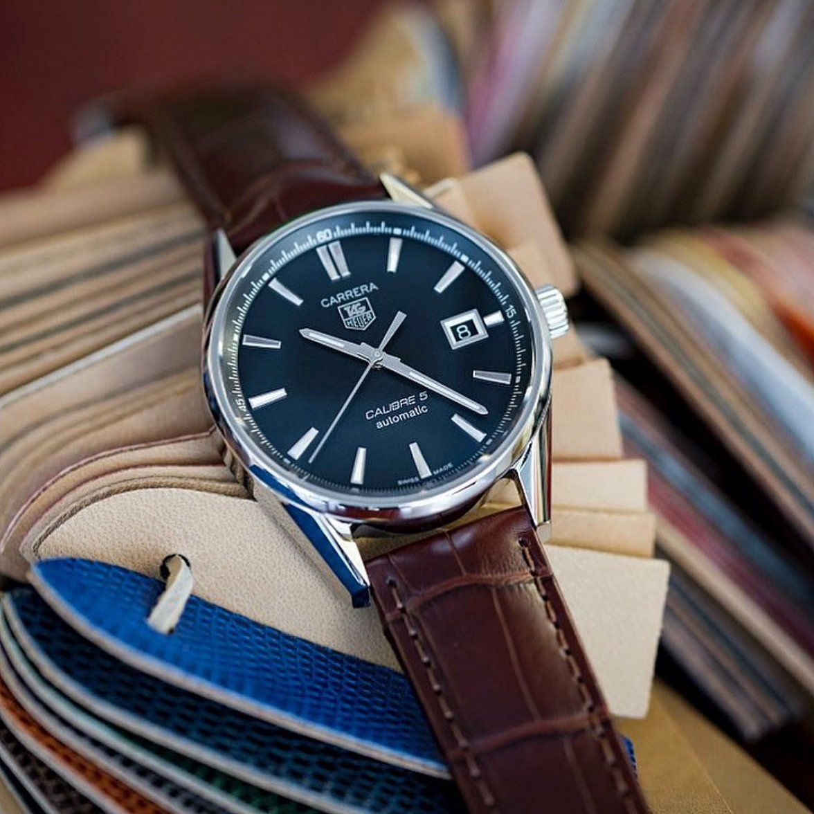 TAG Heuer Carrera Calibre 5 by @thewatchobsession # ...