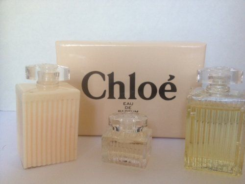 Chloe Mini EDP .17 fl oz Body Lotion 1 fl oz and Shower Gel 1 fl oz Gift Set by Chloe. $23.95. Chloe EDP Mini Gift Set. Chloe EDP Mini Gift Set