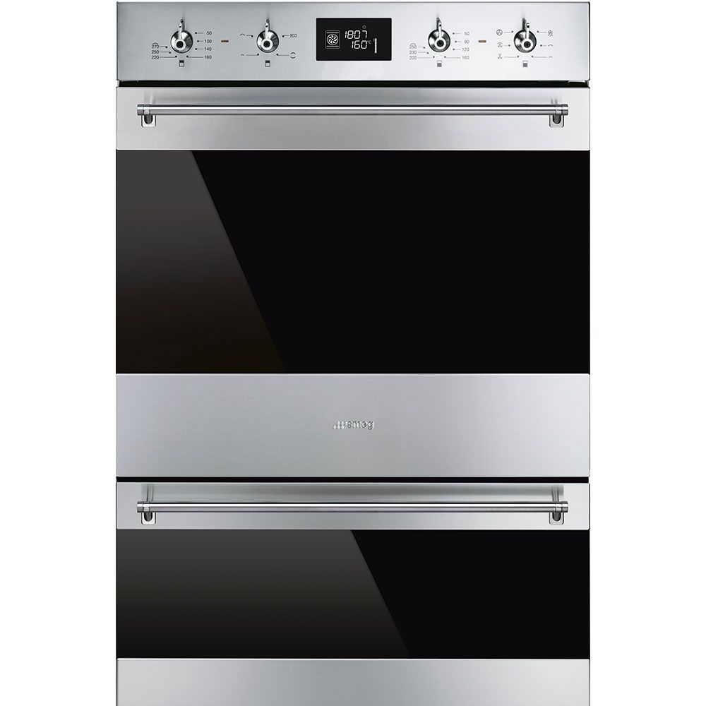 Main oven capacity: 79 litres; Main oven type: Multifunction; Main oven cleaning: Pyrolytic cleaning; Main oven energy rating: A; One year manufacturer's guarantee