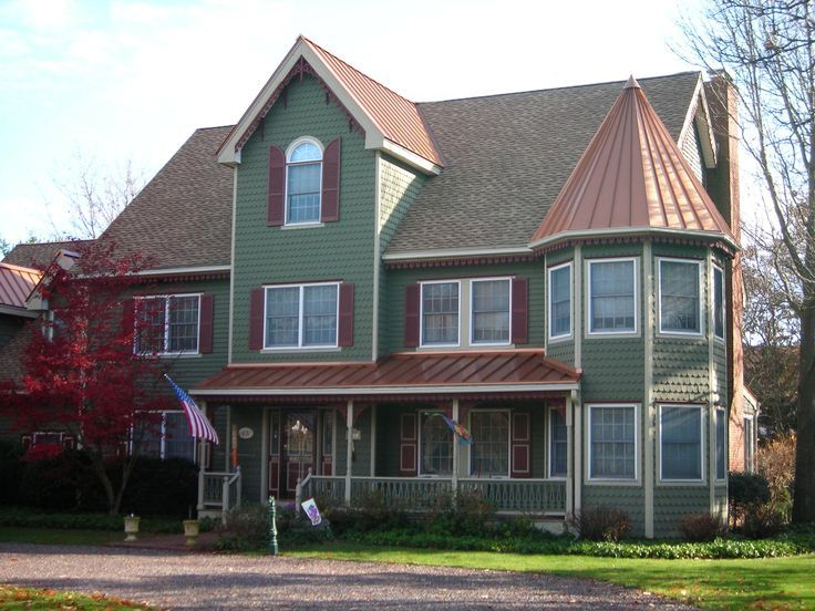 Pin By Drexel Metals On Metal Roofs Pinterest Copper Roof House Farmhouse Exterior Colors Craftsman House