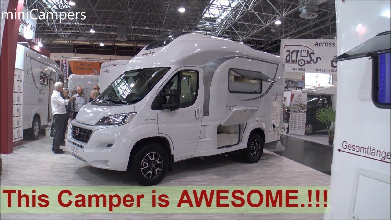 The 2019 Wingamm Oasi 540 This Camper Is Awesome Mini Camper Mini Motorhome Camper