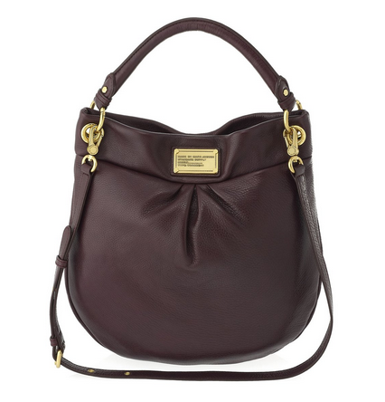 0966ff988424 Marc by Marc Jacobs Classic Q Hillier Hobo in Cardamom Brown