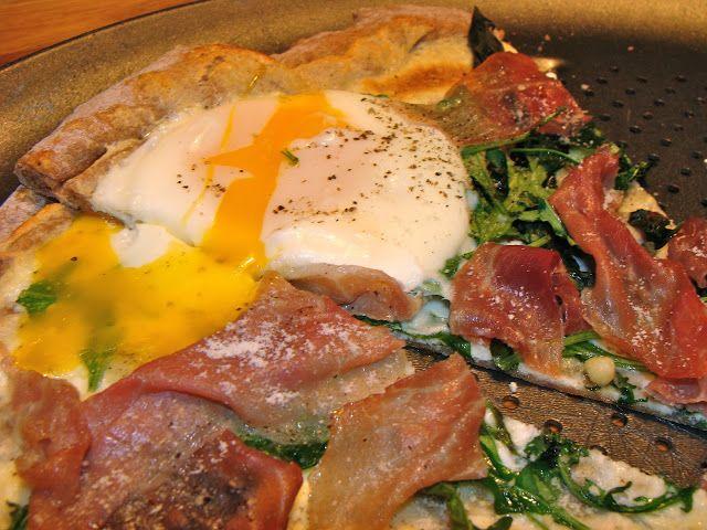 Breakfast Pizza   Rux Cooks