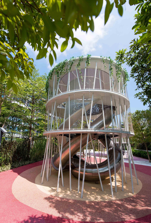 Mount Pavilia Playground In Hong Kong Playground Playequipment Slide P Landscape And Urbanism Architecture Landscape And Urbanism Landscape Architecture