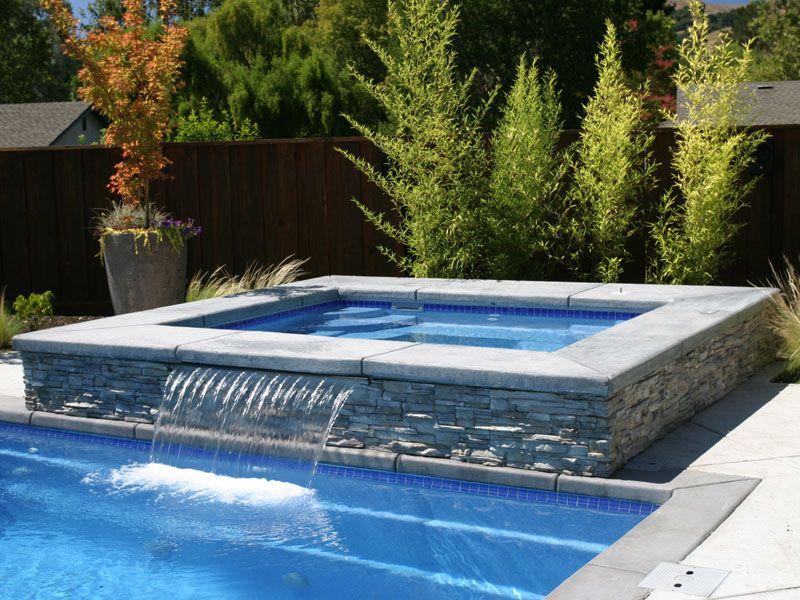 Royal Spillover Spa Hot Tub Viking Fiberglass Pools Viking Pools Fiberglass Pools Fiberglass Swimming Pools