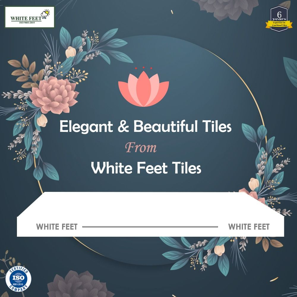 Best White Feet Cool Roof Tiles Heat Proof Tiles White Roof 640 x 480