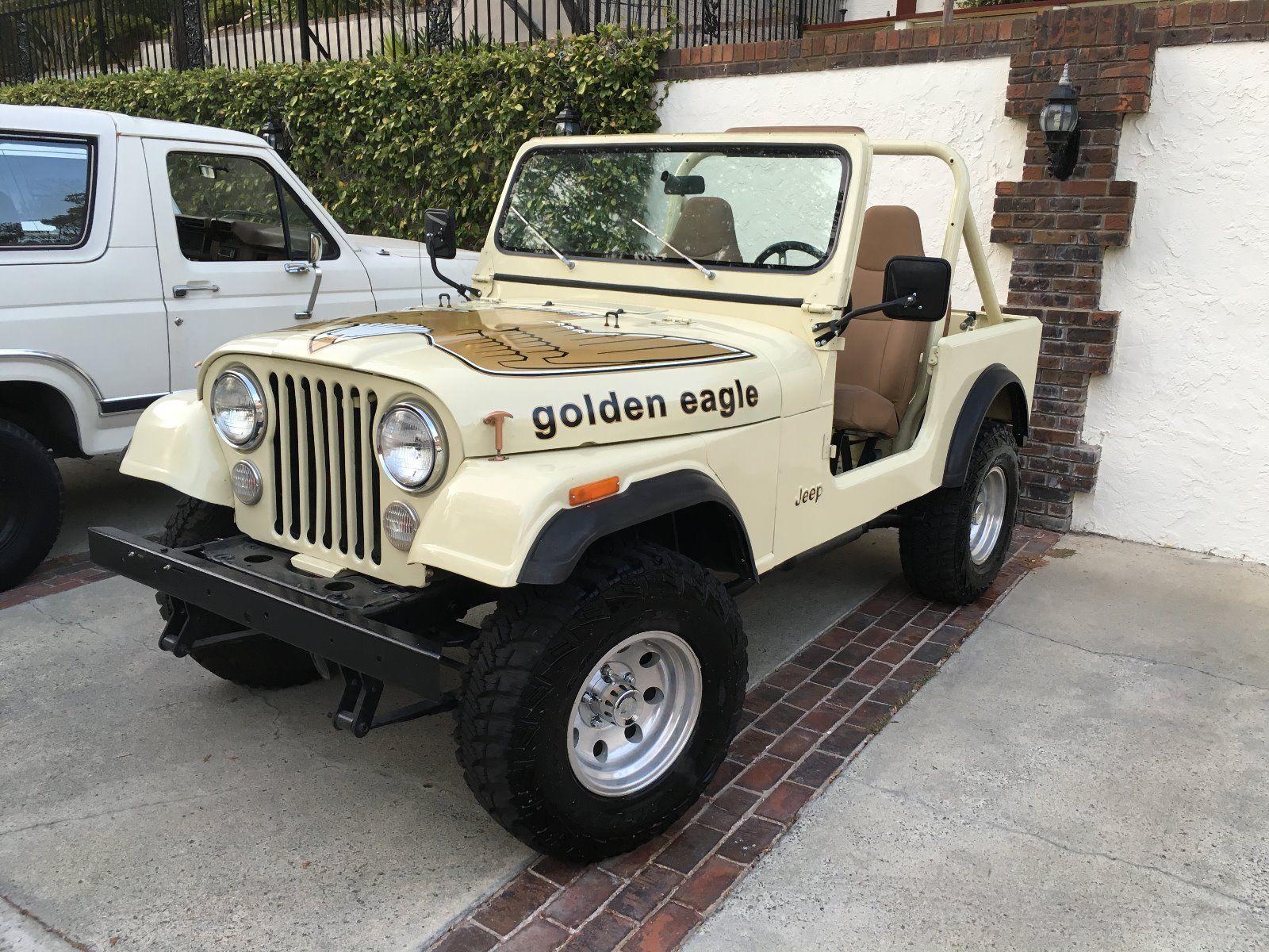 Jeep Cj Golden Eagle In Ebay Jeep Cj Jeep Cj7 Jeep