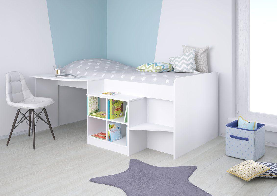 Alessia Single High Sleeper Bed Mid Sleeper Cabin Bed
