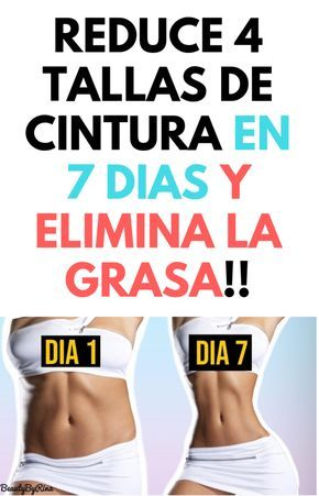 Reduce 4 Tallas De Cintura En 7 Dias Y Elimina La Grasa Salud En Casa Health Benefits Of Ginger Health Fitness Fitness Tips
