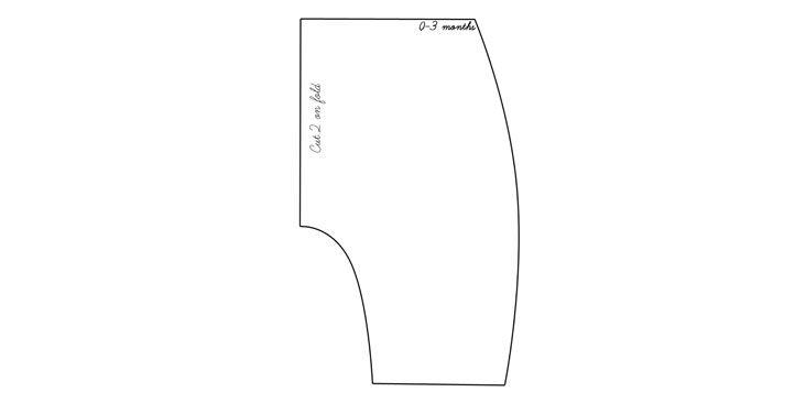 Pattern image baby harem pants linen quilting textiles for Harem pants template