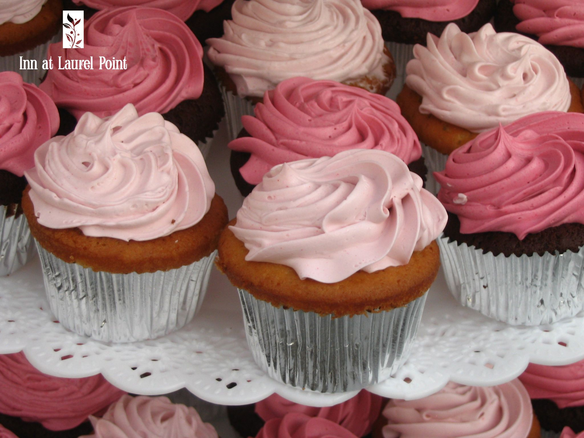 Pink cupcakes | Cakes/Cupcakes/Treats - Vancouver Island | Pinterest ...