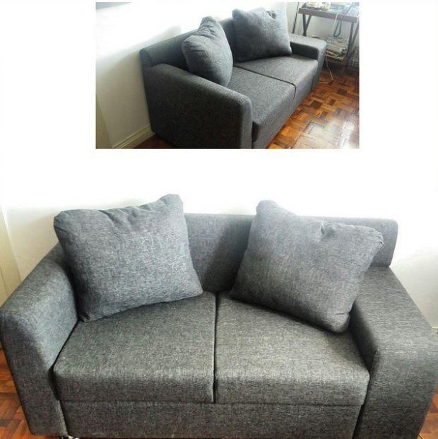 2 Seater Sofa Uratex Foam Made Living Room Sofa Design Living Room Sofa Sofa Design