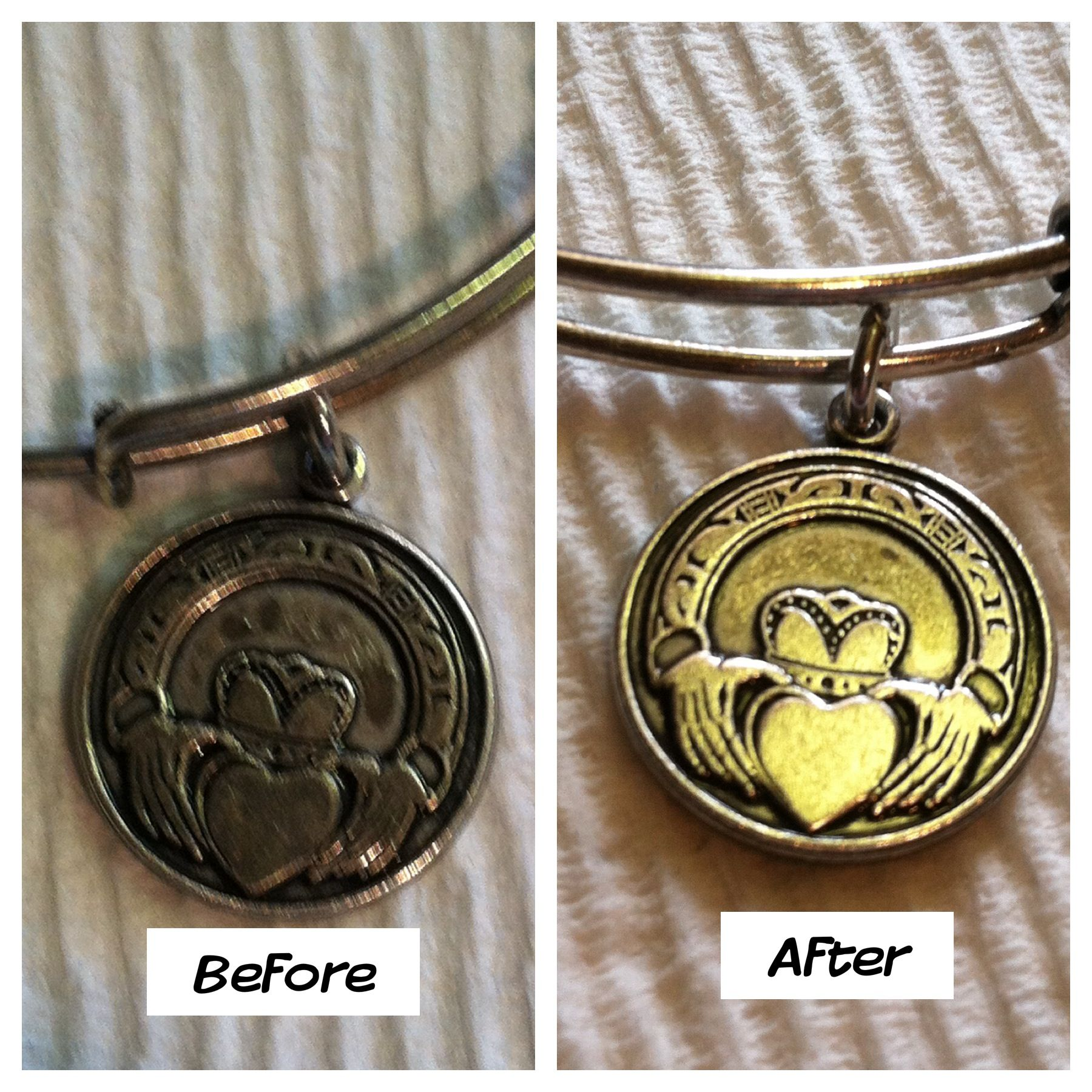 Great Way To Clean Alex & Ani: Make A Paste From Baking