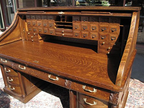 Gunn 72 in Rolltop Desk - Gunn 72 In Rolltop Desk Quartersawn Oak Wishlist Pinterest