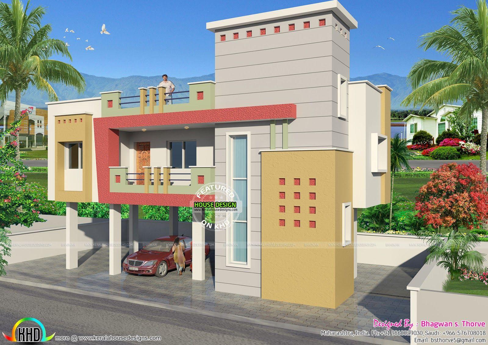 885 Sq Ft India House Design House Design Kerala House Design House On Stilts