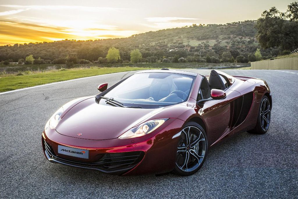 McLaren Debuts Topless MP4-12C Spider.