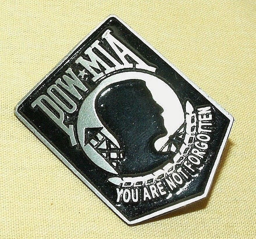 You Are Not Forgotten Official POW MIA Pin Military Lapel Pin Army Insignia