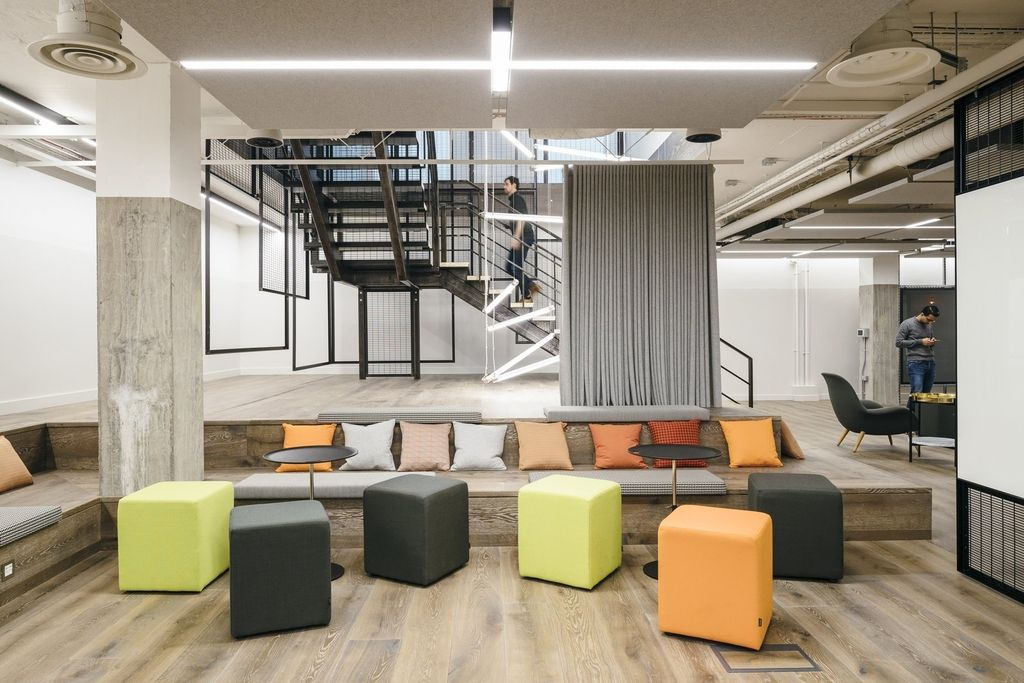 Büro design holz  SapientRazorfish London (England) | Office Design | Pinterest
