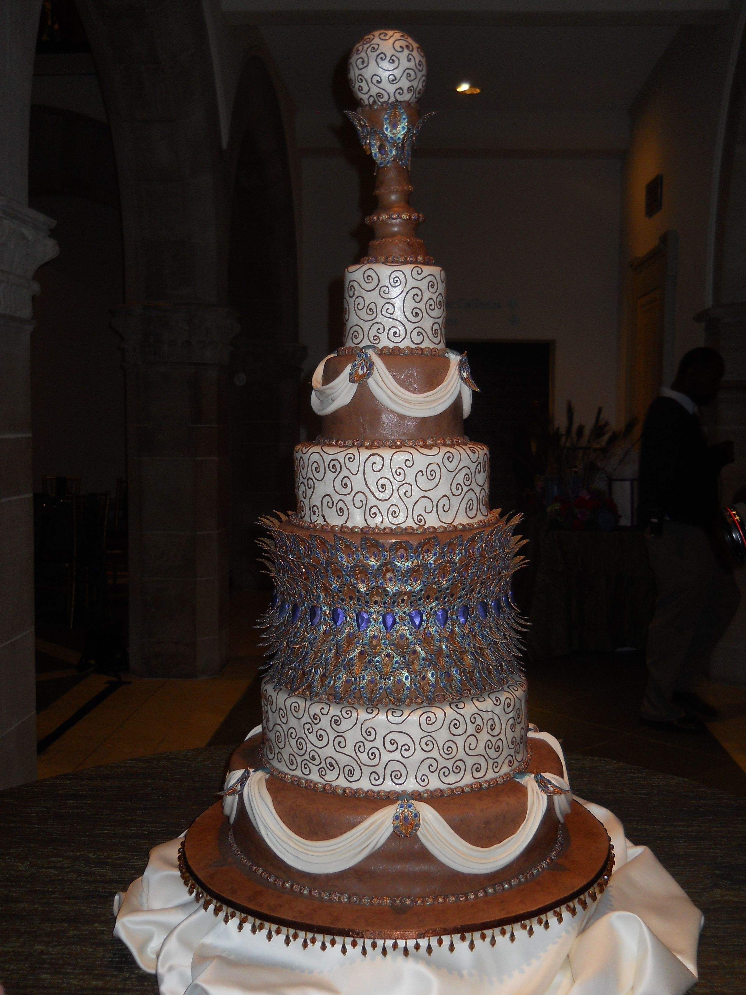 one of the cakes ive worked on