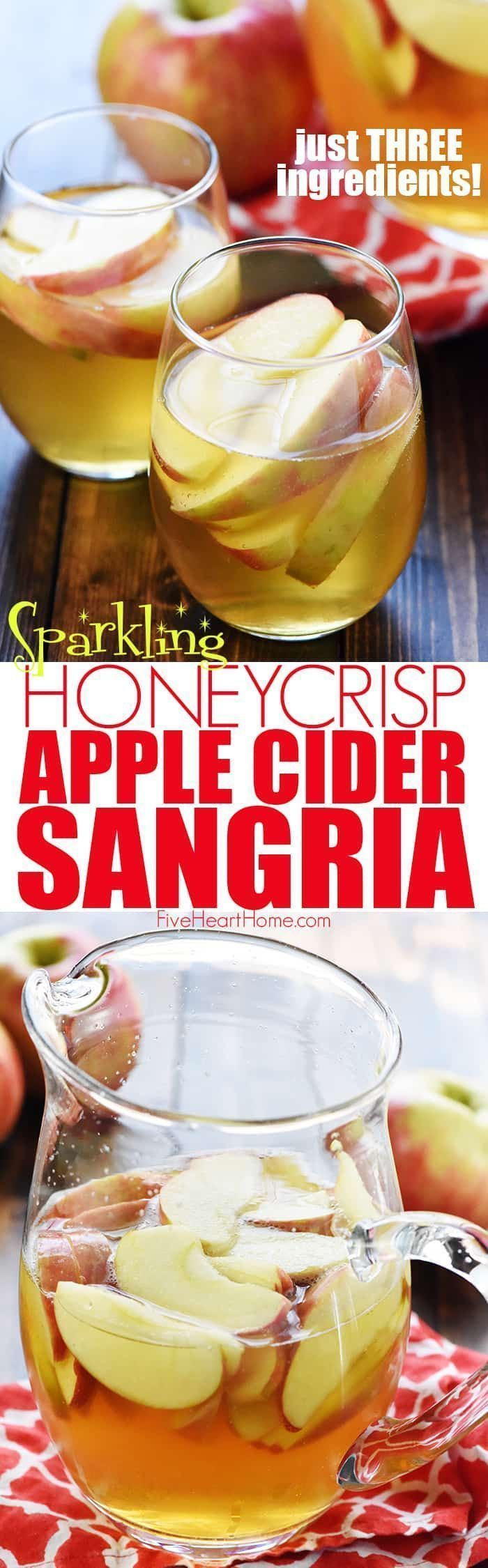 Sparkling Apple Cider Sangria ~ a festive fall cocktail recipe with just three i... - coctails - #Apple #Cider #Cocktail #coctails #FALL #festive #RECIPE #Sangria #Sparkling #applecidersangriarecipe Sparkling Apple Cider Sangria ~ a festive fall cocktail recipe with just three i... - coctails - #Apple #Cider #Cocktail #coctails #FALL #festive #RECIPE #Sangria #Sparkling #applecidersangriarecipe Sparkling Apple Cider Sangria ~ a festive fall cocktail recipe with just three i... - coctails - #Appl #applecidersangriarecipe