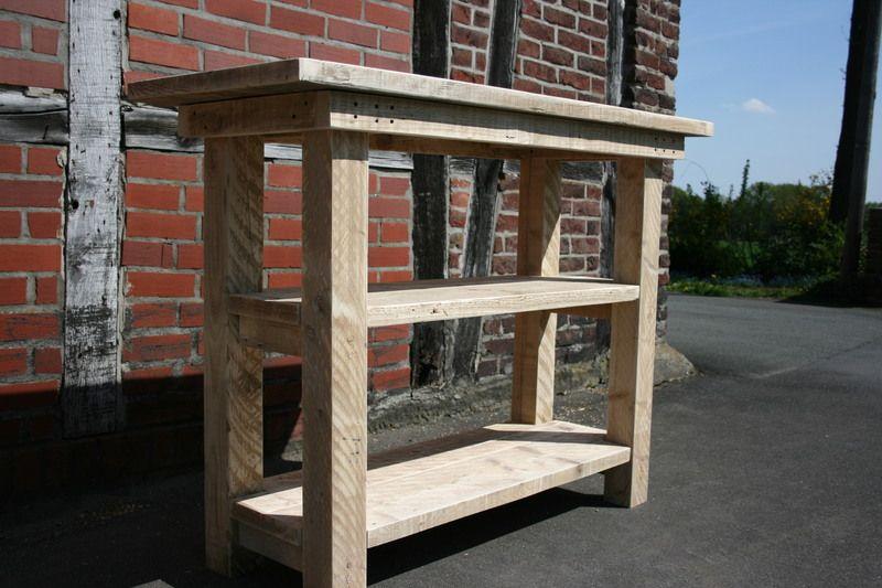 Bauholz Arbeitstisch Sideboard Fur Diekuche Garten Bauen Mit Holz Arbeitstisch Holz