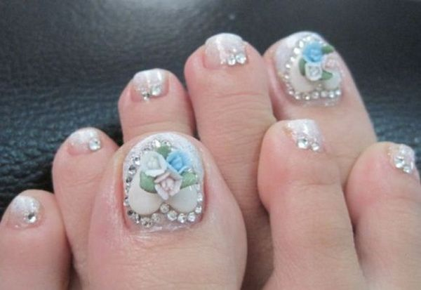 Toe Nail Art Designs Sooo Pretty I 3 Nail Art Pinterest