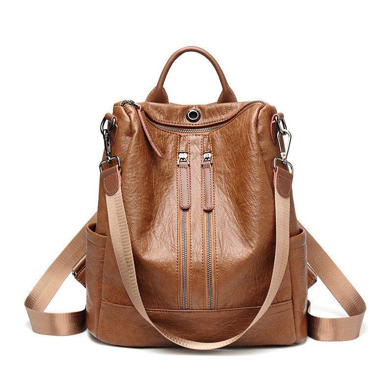 48cc5dd1abca Women Leisure Multi-function Backpack Large Capacity Shoulder Bag – lalasgal