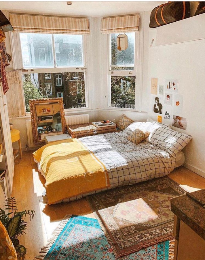 50 Rustic Boho Bedroom Decor Ideas For Small Apartment Aesthetic Bedroom Aesthetic Room Decor Dream Rooms