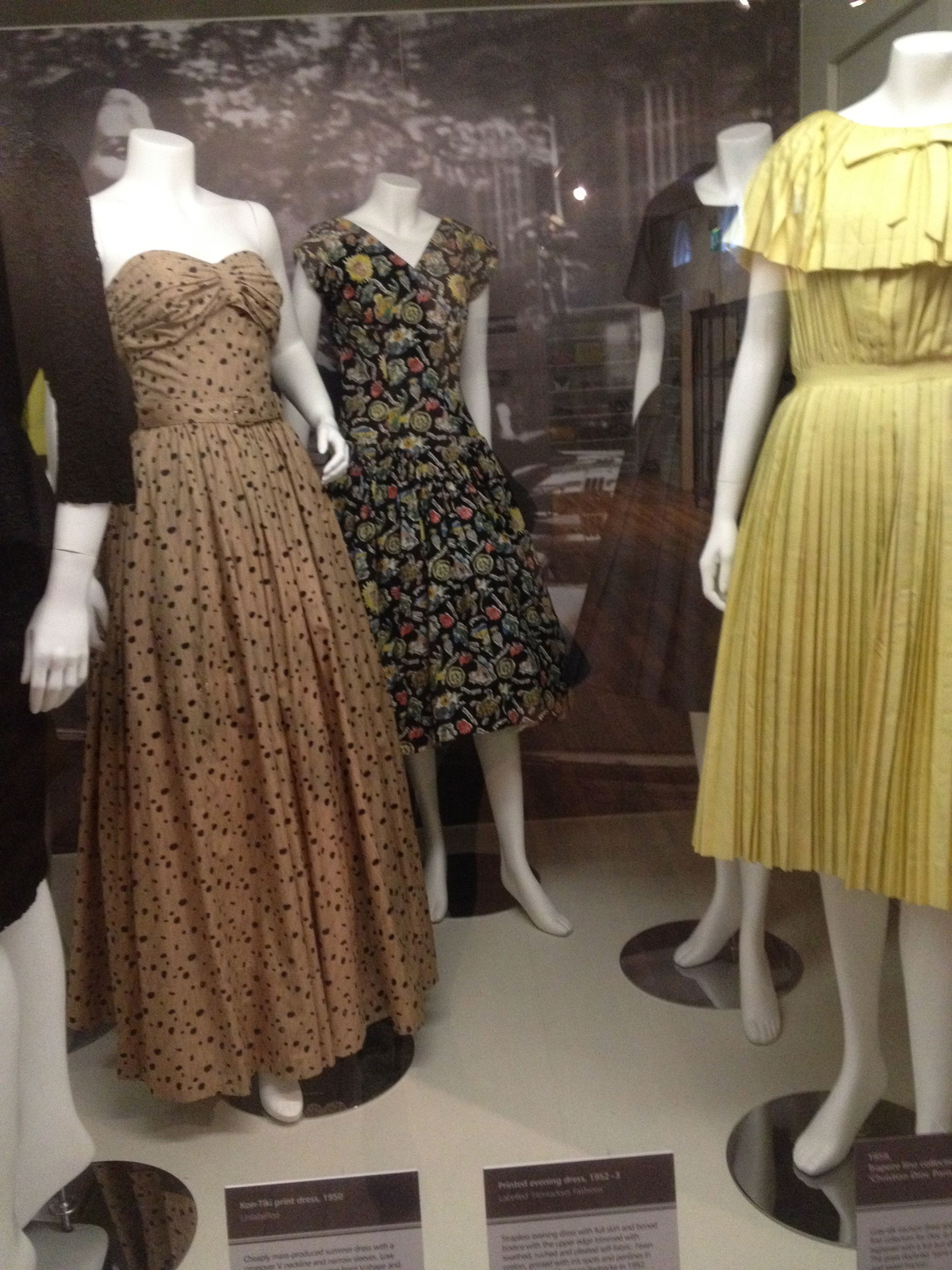 platt hall 1950s womens wear