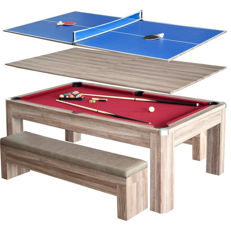 Terrific Hathaway Newport 7 Ft Pool Table Combo Set With Benches Pdpeps Interior Chair Design Pdpepsorg