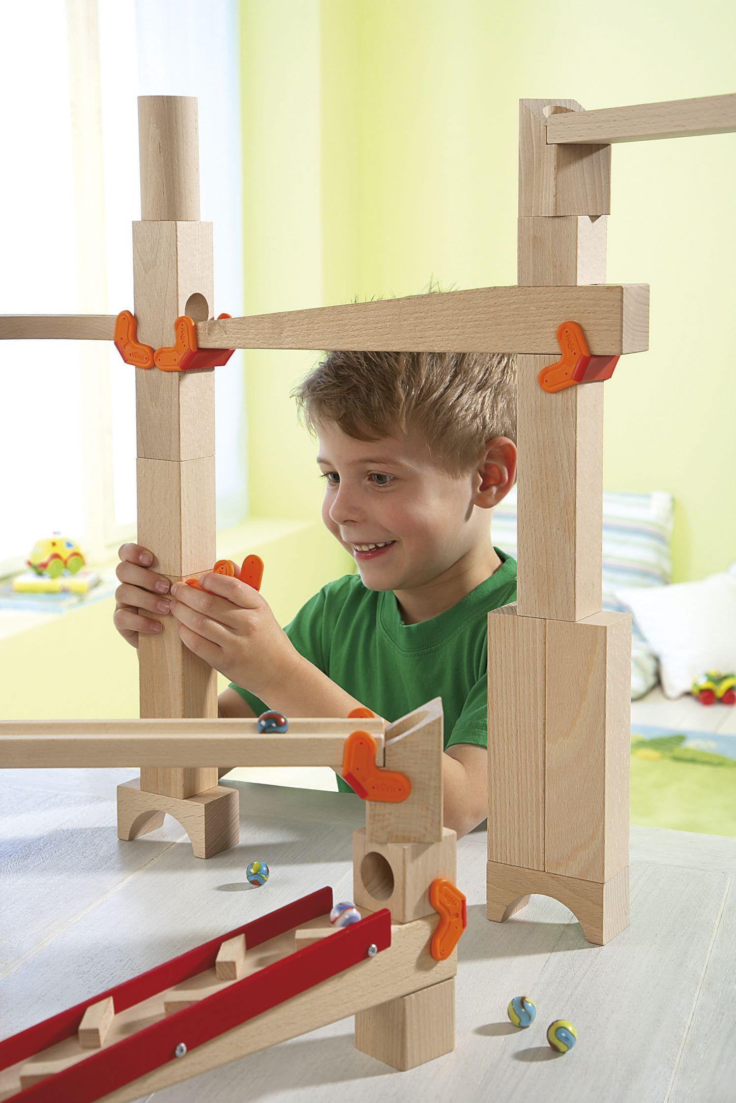 Bausteinklemmen und Rampen | Wooden toys and Toy