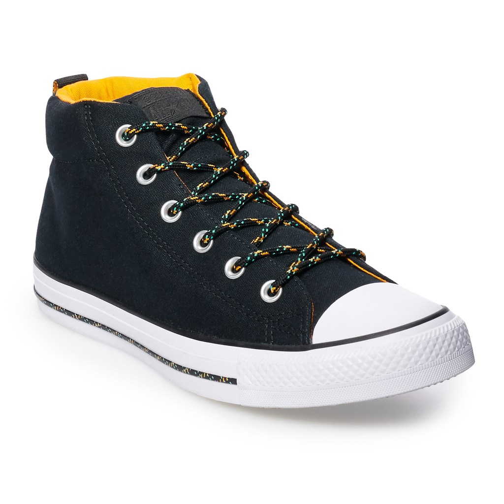 Converse Men s Chuck Taylor All Star Street Mid Mason Sneakers ... 886061850