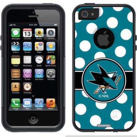 Chicago Blackhawks Primary Logo Design on OtterBox Commuter Series Case for Apple iPhone 5/5s