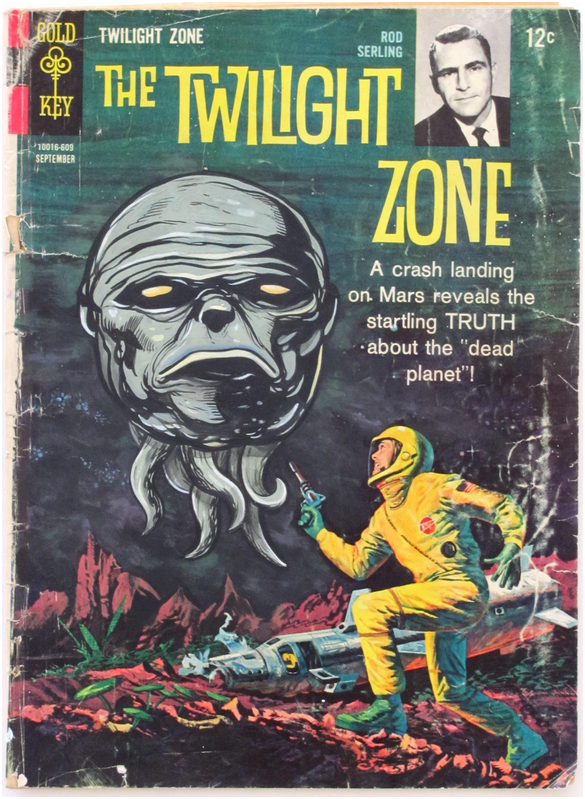 Old Book Cover Zone : Comic book cover under gold key old pinterest