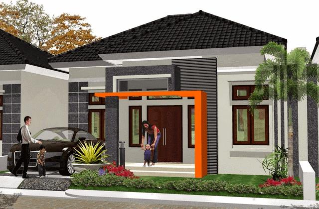 Desain Rumah Minimalis Modern 2 Lantai Type 36 Desain Rumah