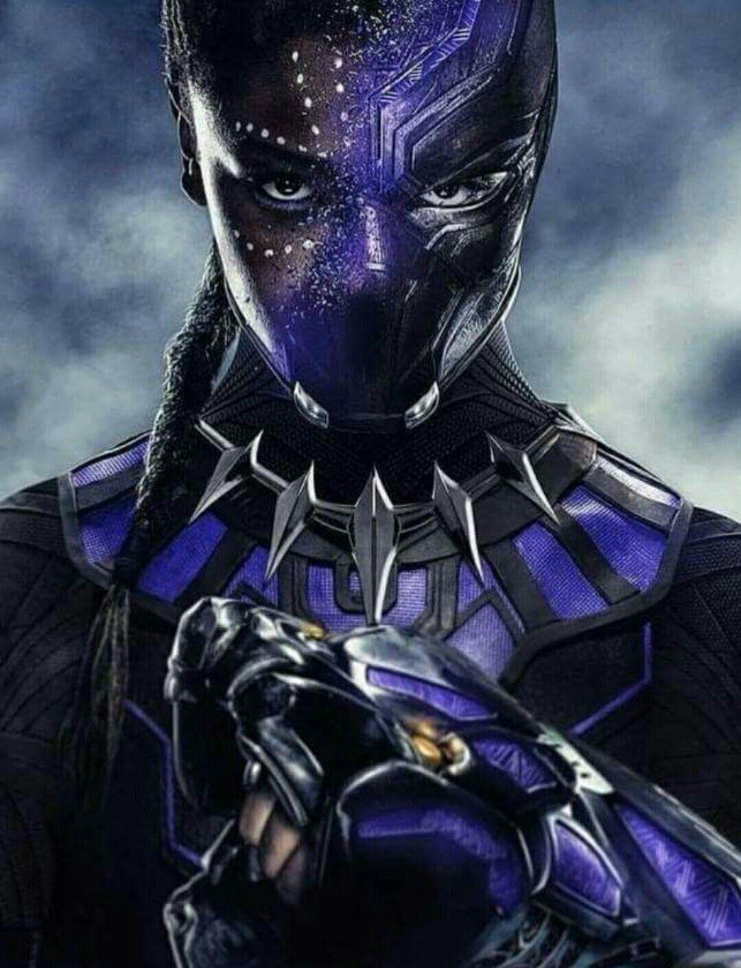 e82bb03b7f7 FanArt do possível futuro de Shuri como Pantera Negra!  NECESSITODISSO