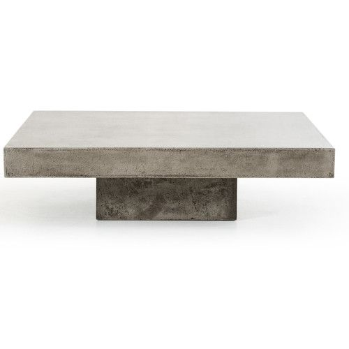 Lipscomb Coffee Table Concrete Coffee Table Coffee Table