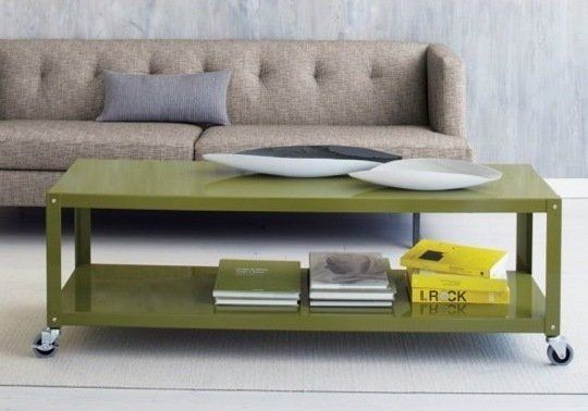 coffee table storage with wheels images Google Search Coffee
