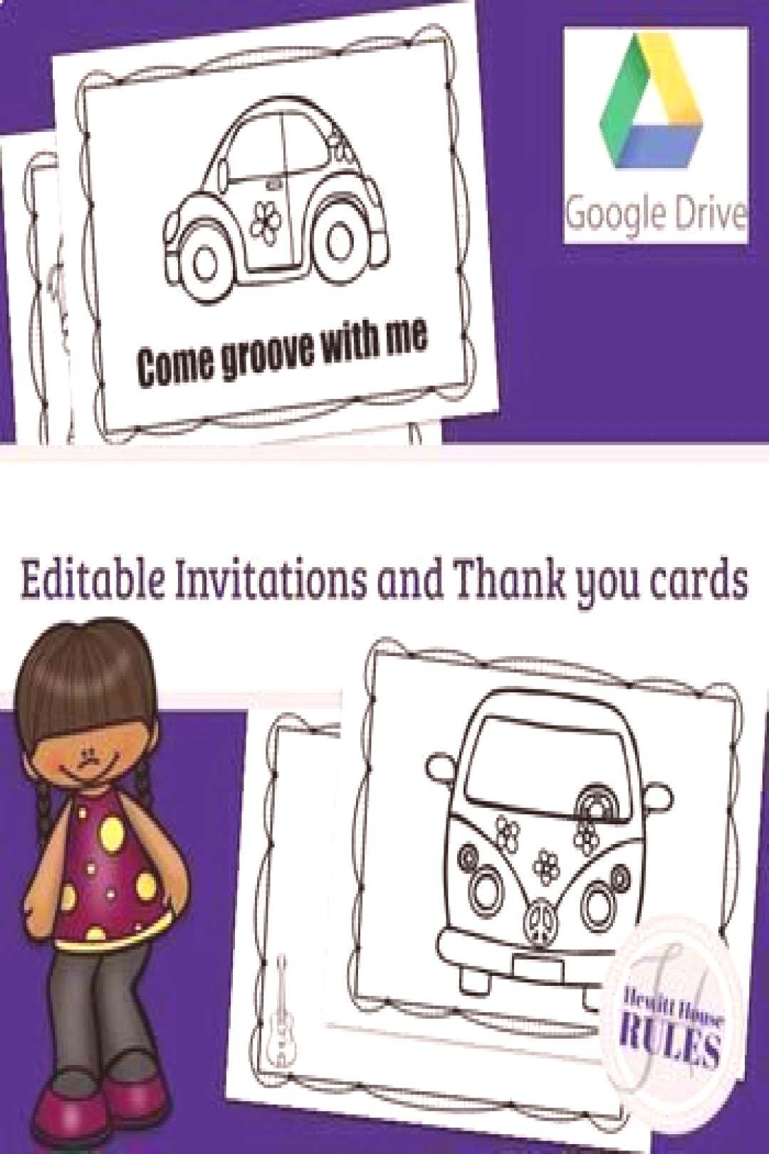 Grandparents Invitation Activities Resources Included