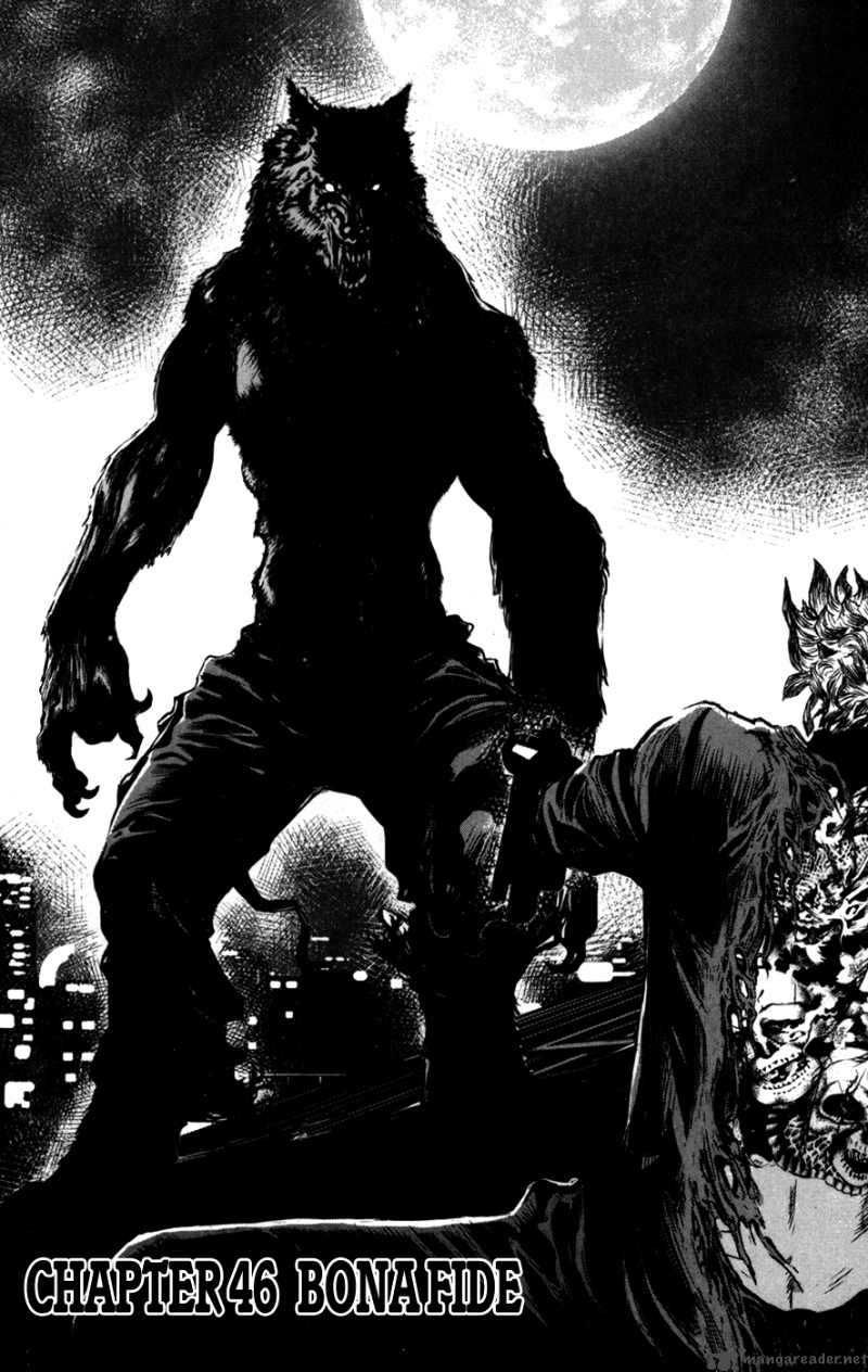 Werewolves are popular in horror stories, this example comes