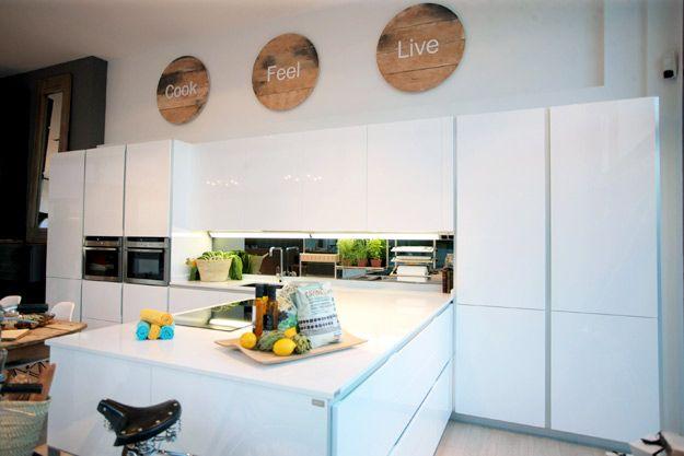 Interior de la tienda de muebles de cocina XEY Madrid-Las ...