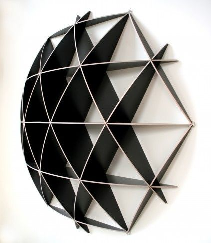 Small COMB Shelving Sphere by Jaanus Orgusaar
