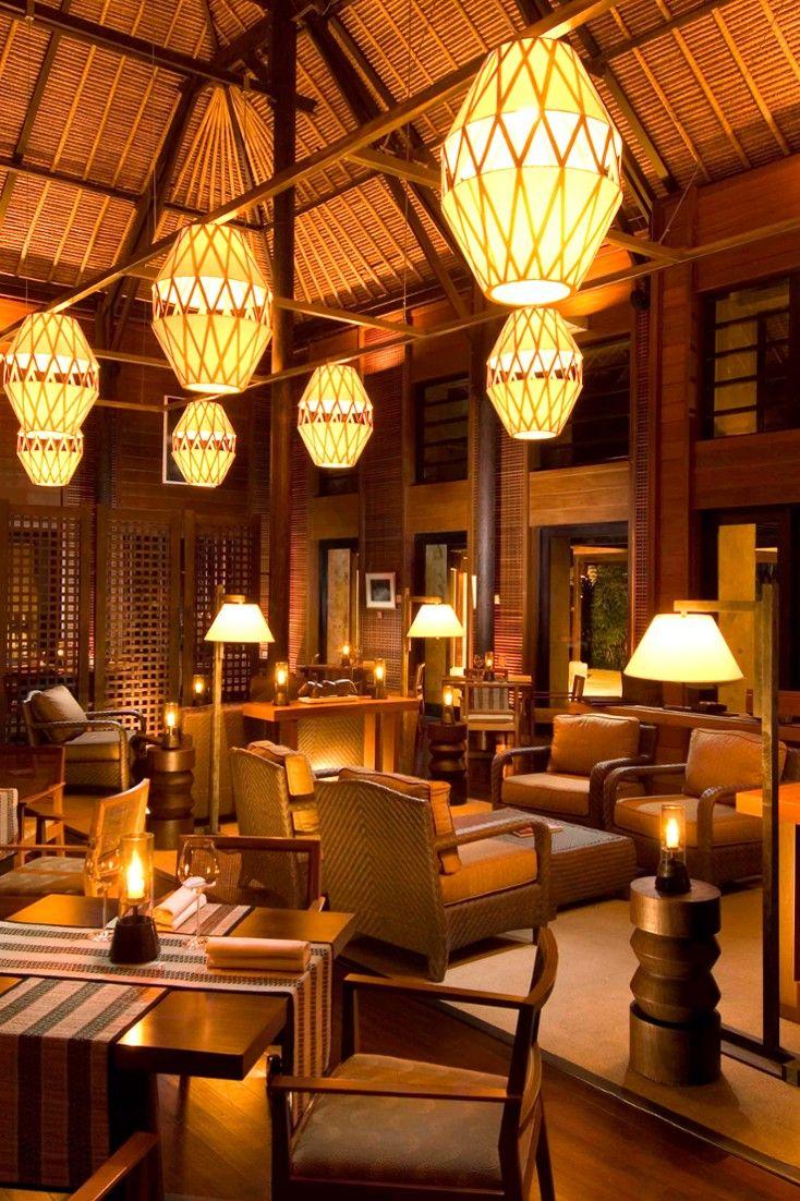 Conrad Bali Indonesia Modern Interior Design Bali Resort