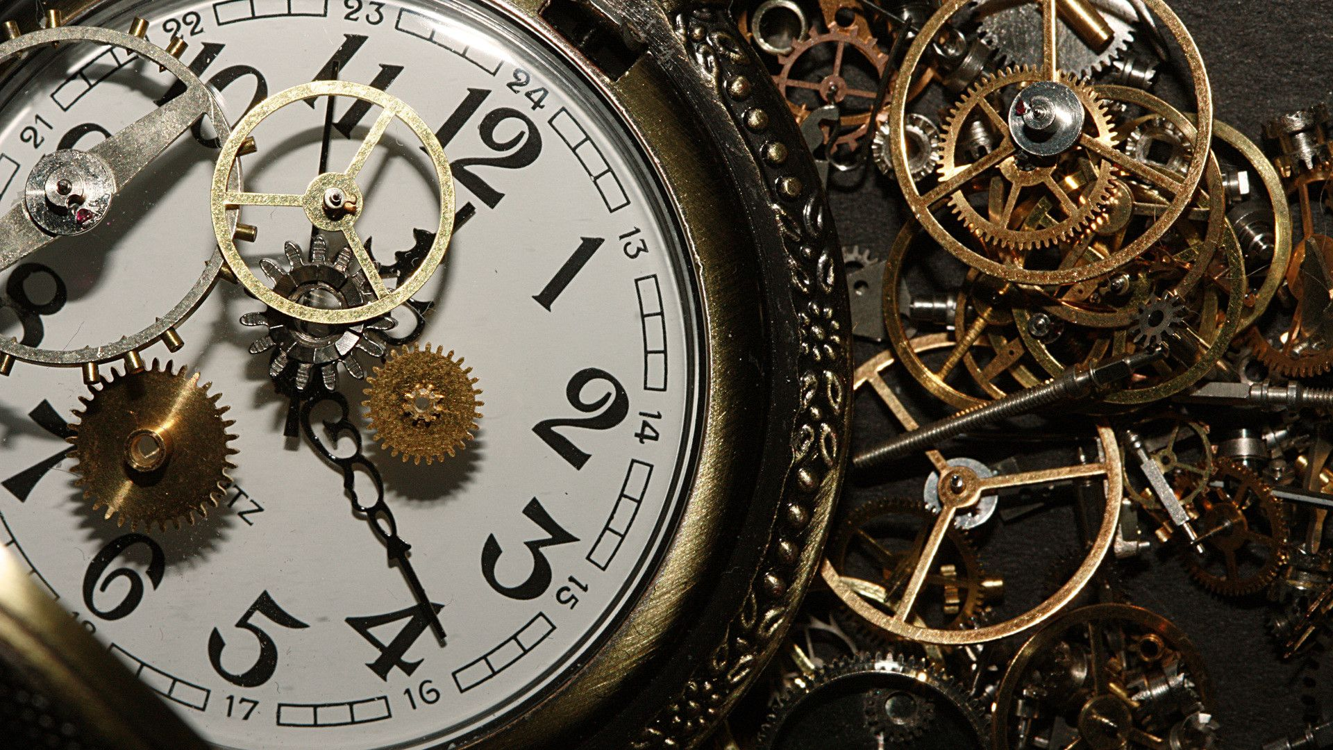 1920x1080 Mechanical Engineering Wallpapers Hd Wallpapersafari Close Up Faces Clock Watches
