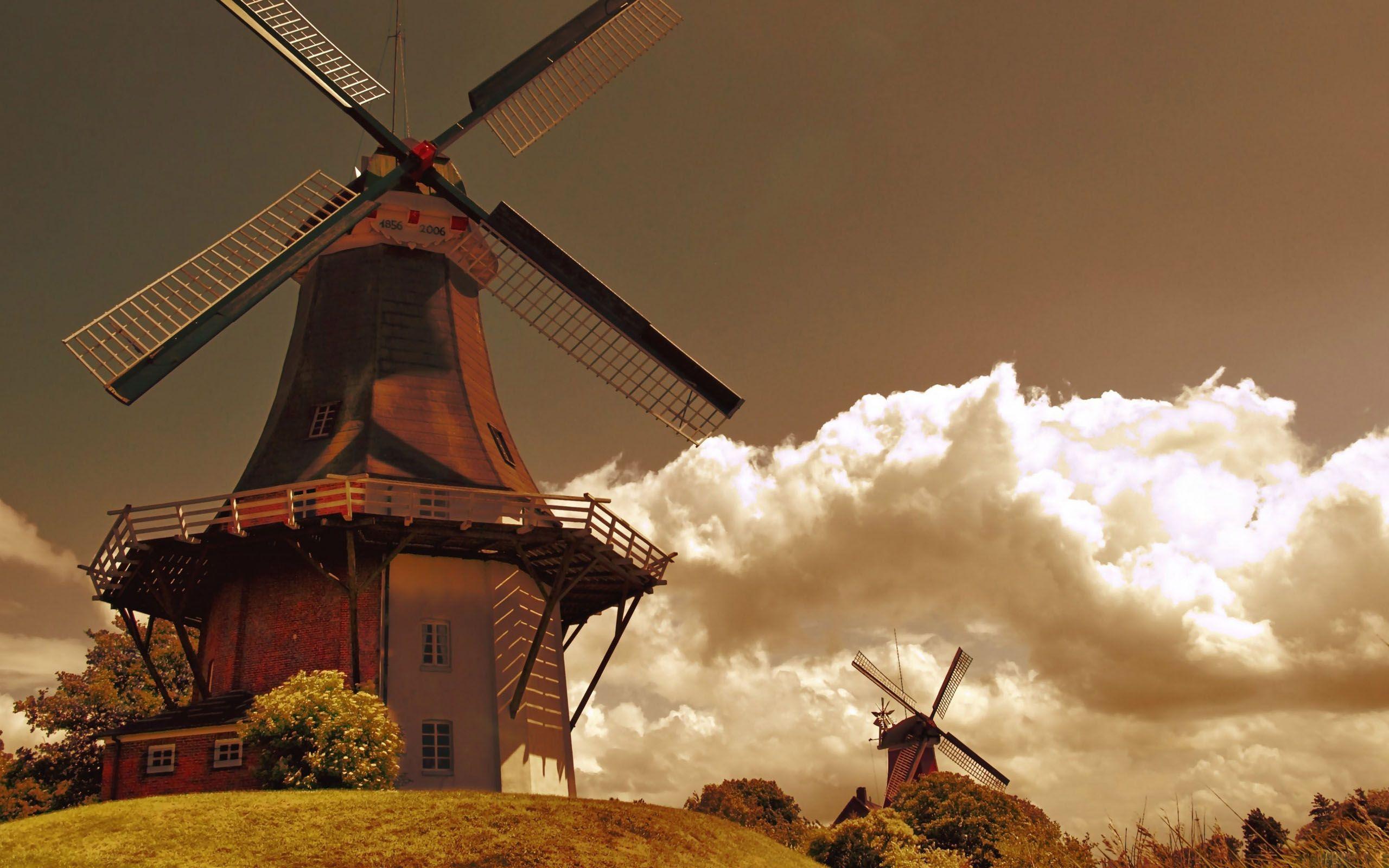 Windmill Wallpaper Backgrounds Windmill Mill Sky Wallpapers Windmill Widescreen Wallpaper Wallpaper
