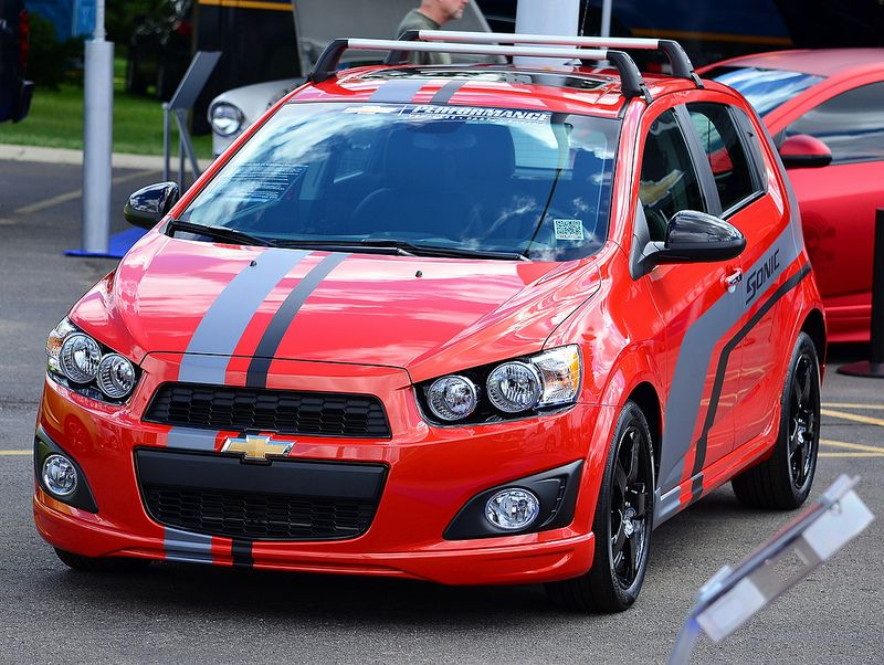 2013 Chevy Sonic Autos Coches Sonic