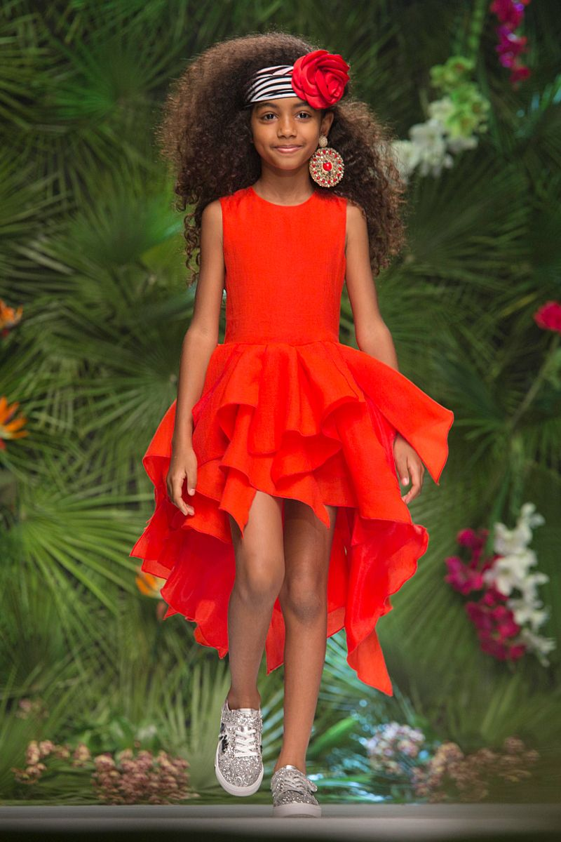 Fun Fun Fashion Show Pitti Bimbo 85 Spring Summer 2018 Preview Funfun Kidsfashion