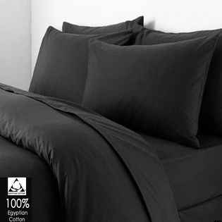 clicktostyle | Rakuten.co.uk Shopping: BLACK COLOUR T200 EGYPTIAN COTTON DUVET SET QUILT COVER WITH PILLOW CASES BEDDING SET ALL SIZES Buy 100% Egyptian Cotton - Free UK Shipping BLACK COLOUR T200 EGYPTIAN COTTON DUVET SET QUILT COVER WITH PILLOW CASES BEDDING SET ALL SIZES: c2s-ec200tc-black-duve- from clicktostyle | Rakuten.co.uk Shopping